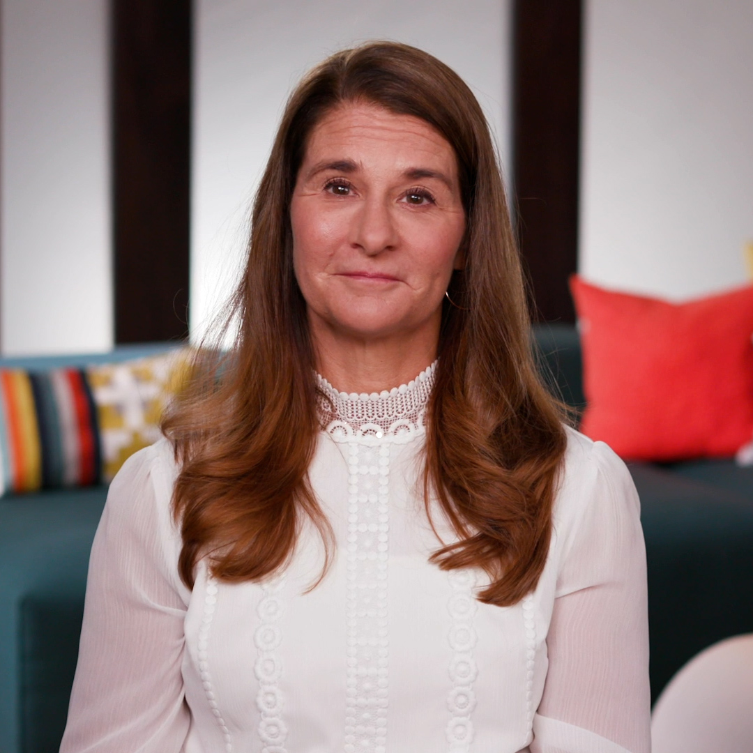 """""""We need to recognize as a society that all of our economies around the world are built on the backs of women's unpaid labor.""""   @MelindaGates discusses the disproportionate work women bear with @WPLeadersOrg."""