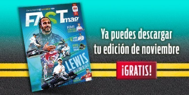 ¡NO LO OLVIDES!  Descarga #gratis la versión digital de nuestra revista de #noviembre --> https://t.co/KTvFiUlNY0  #FASTMag #racing #November #AceleraTuPasión #Magazine #emagazine #Motorsport https://t.co/OBLYzpNZ9E