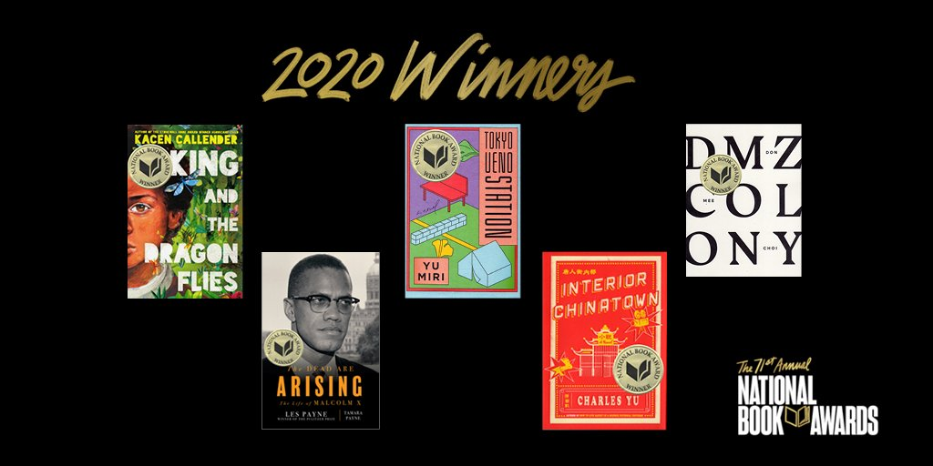 2020 National Book Awards Winners