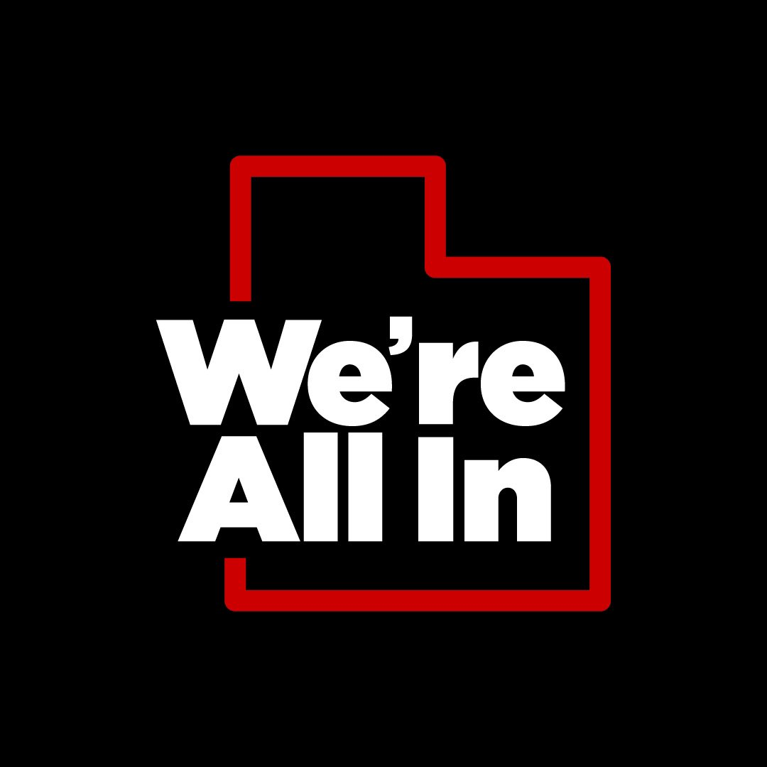 A reminder to wash your hands, mask up and practice physical distancing. We're all in at Utah Football. coronavirus.utah.gov #AllinUT