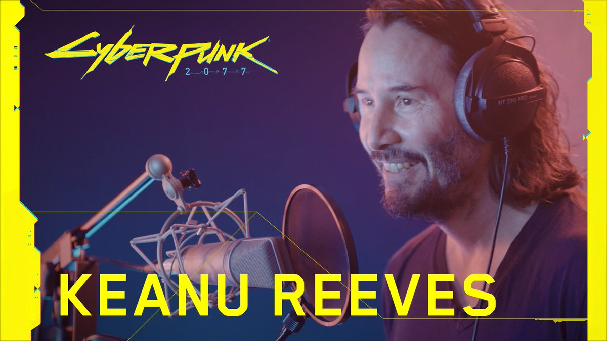 How do you bring an iconic character of Johnny Silverhand to life? Go behind the scenes with Keanu Reeves to find out!   #Cyberpunk2077