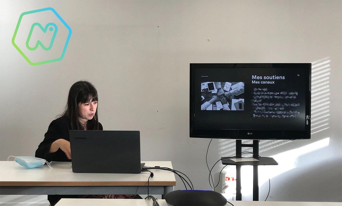 🥳 Félicitations à Léa qui rejoint l' #incubateur aujourd'hui avec son #projet l'Atelier Infini ! 🥳 L'Atelier Infini, c'est la…