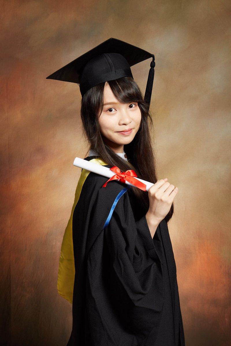 大学を卒業しました。  つらい5年間でしたが、たくさんの人に支えていただいて、香港バプテスト大学の政治と国際関係学部を卒業することができました。  これからもよろしくお願いします。❤️
