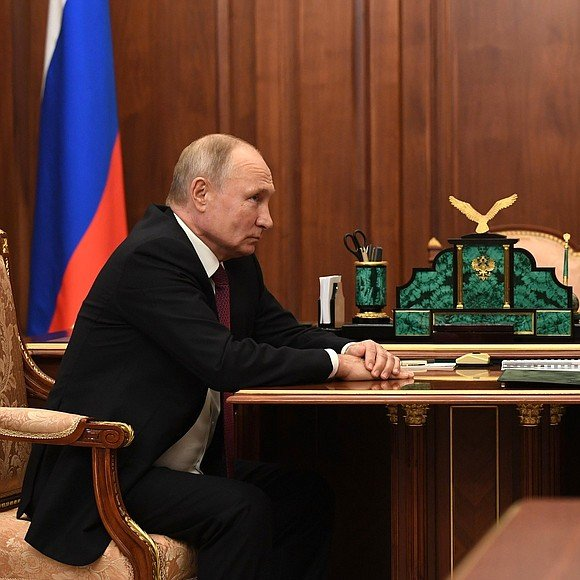 President Of Russia On Twitter Kremlin Vladimir Putin Had A Meeting With Head Of Federal Taxation Service Daniil Yegorov Https T Co Rgwfw8ldj0