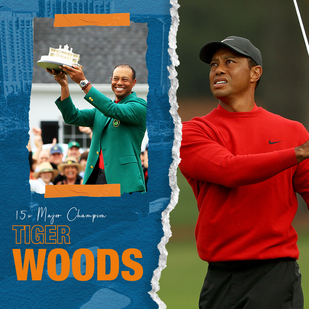 Welcoming one of the greatest golfers & athletes of all time, with 𝙖 𝙧𝙚𝙢𝙖𝙧𝙠𝙖𝙗𝙡𝙚 82 𝙋𝙂𝘼 𝙏𝙤𝙪𝙧 𝙩𝙞𝙩𝙡𝙚𝙨 & 15x Major Wins - @TigerWoods and his son Charlie to the field! https://t.co/elg3X34I1D ▫️ #PNCchampionship #CelebrateFamily https://t.co/B9TAdv5SiG