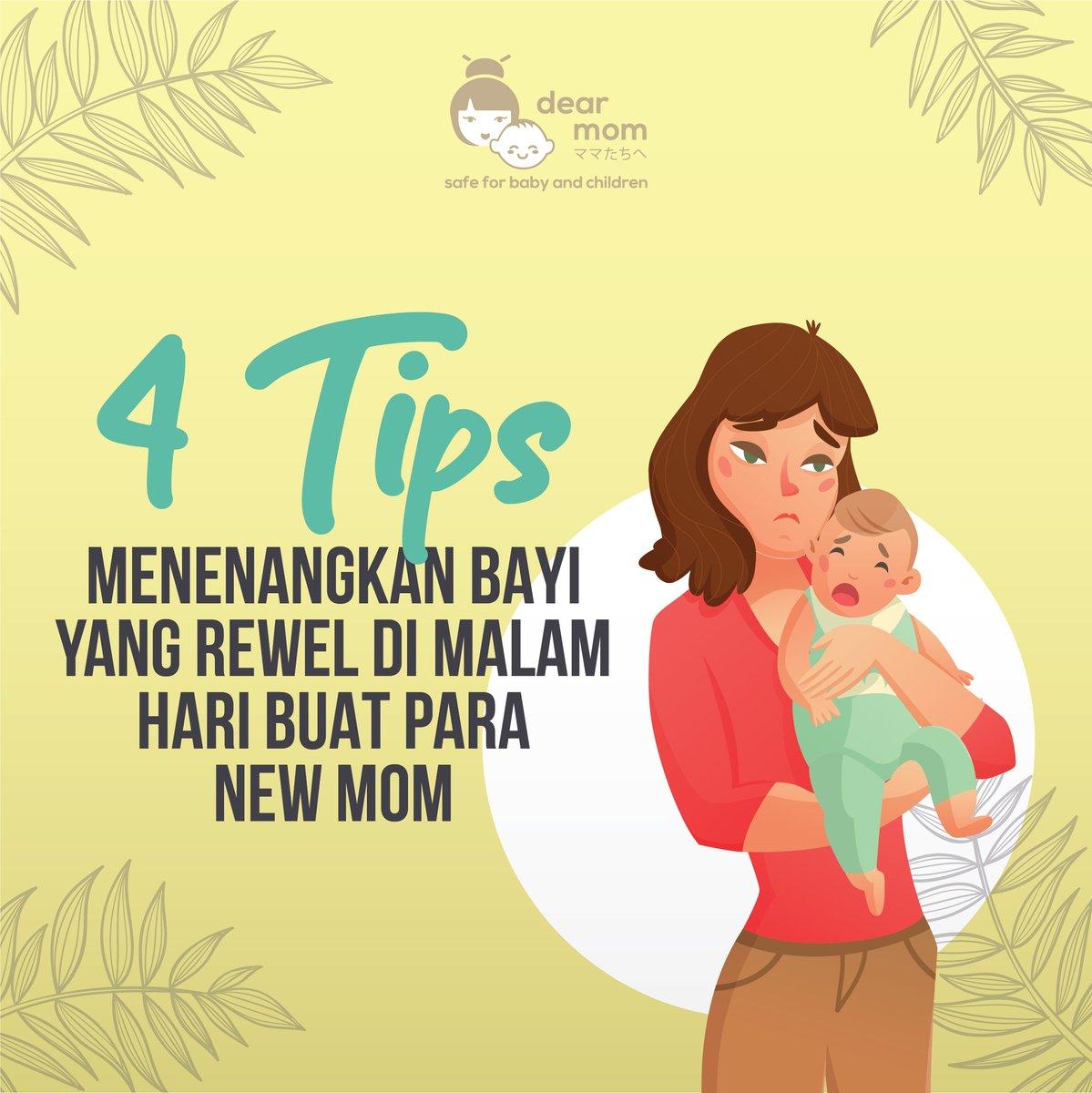 1. Ciptakan Lingkungan yang Tenang  Jika bayi terlihat senang dan aktif selama seharian ini, bisa jadi di malam hari justru akan menangis. Kemungkinan bayi belum mengenal antara siang dan malam sehingga tidak tahu kapan waktunya tidur dan beristirahat.