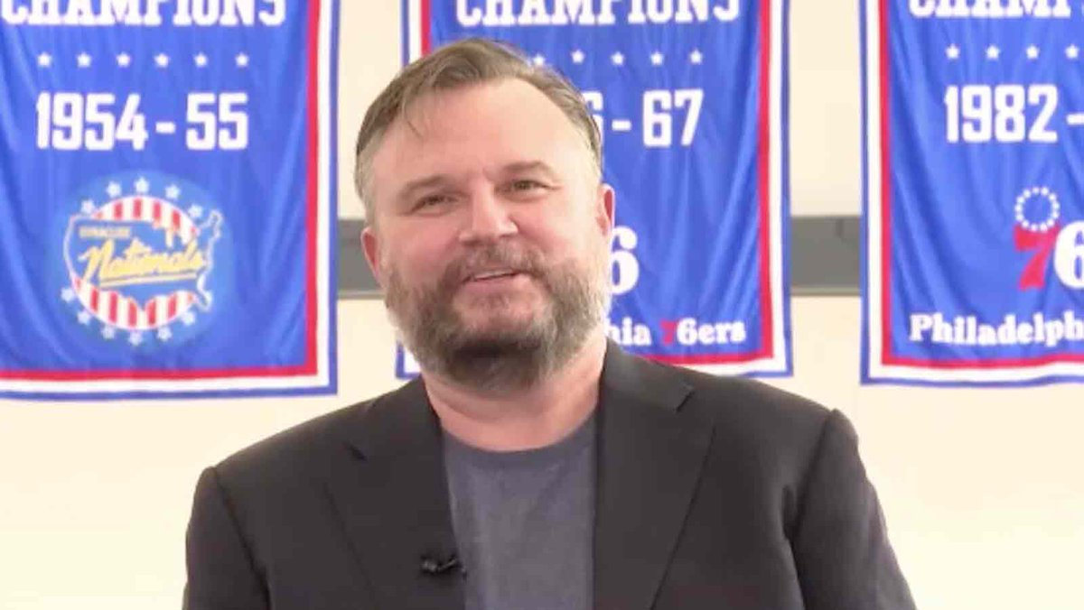 I'm really digging what the @sixers did on #NBADraft day/night. Is it me, or did Daryl Morey pull a rabbit out of a hat!?