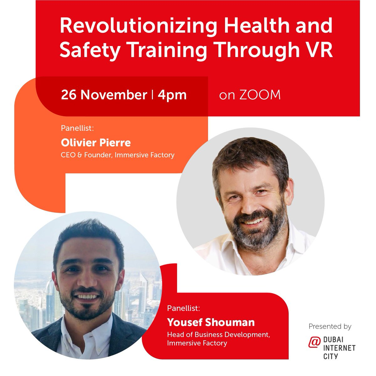 Immersive #VR environments can greatly assist employee learning for new machinery and health & safety training. Join our upcoming virtual discussion with experts from @immersivefactor, @htcvive and @suez to know more. Register: https://t.co/RYbQmqwqYd https://t.co/RV1Ts9Hmip