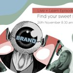 What's your sweet spot? Join power couple Charlotte and @Elle_Moss_  as the dig deeper into your why, the importance of finding your sweet spot and value-led brand positioning in Live + Learn episode 5.  Thursday 26th November 8.30 am Register here: https://t.co/fyi3zyUKtO
