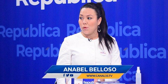 Anabel Belloso: Ley faculta al Congreso abrir antejuicios