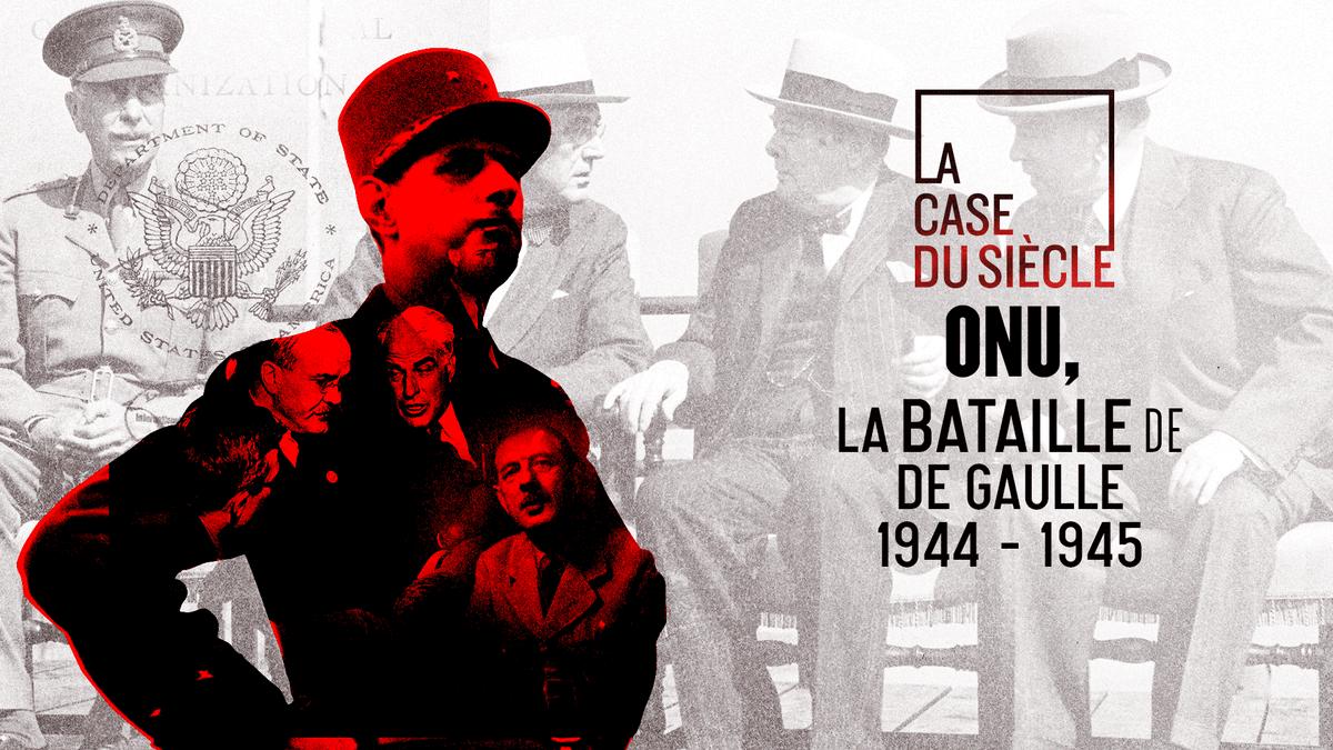 La France doit son siège de représentant permanent au conseil de sécurité de @ONU_fr grâce à la bataille diplomatique et militaire du Général De Gaulle...  (Re)voir #LaCaseDuSiecle sur @francetv ►