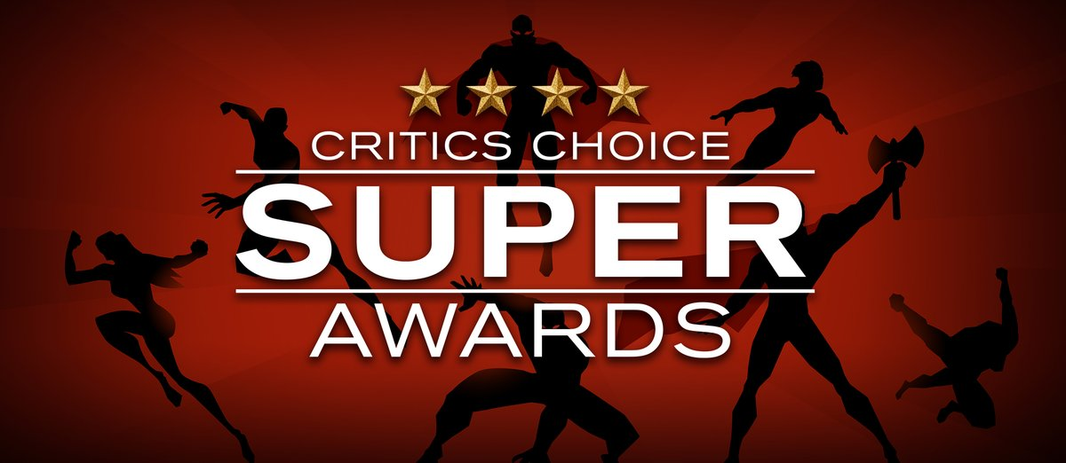 Congratulations to all the nominees for the inaugural Critics Choice Super Awards!! #criticschoice #superawards Complete list: