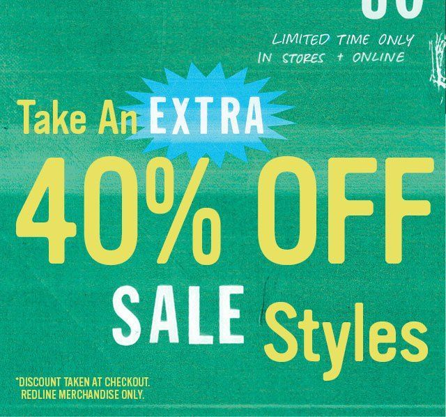 Extra 40% Off Urban Outfitters Sale