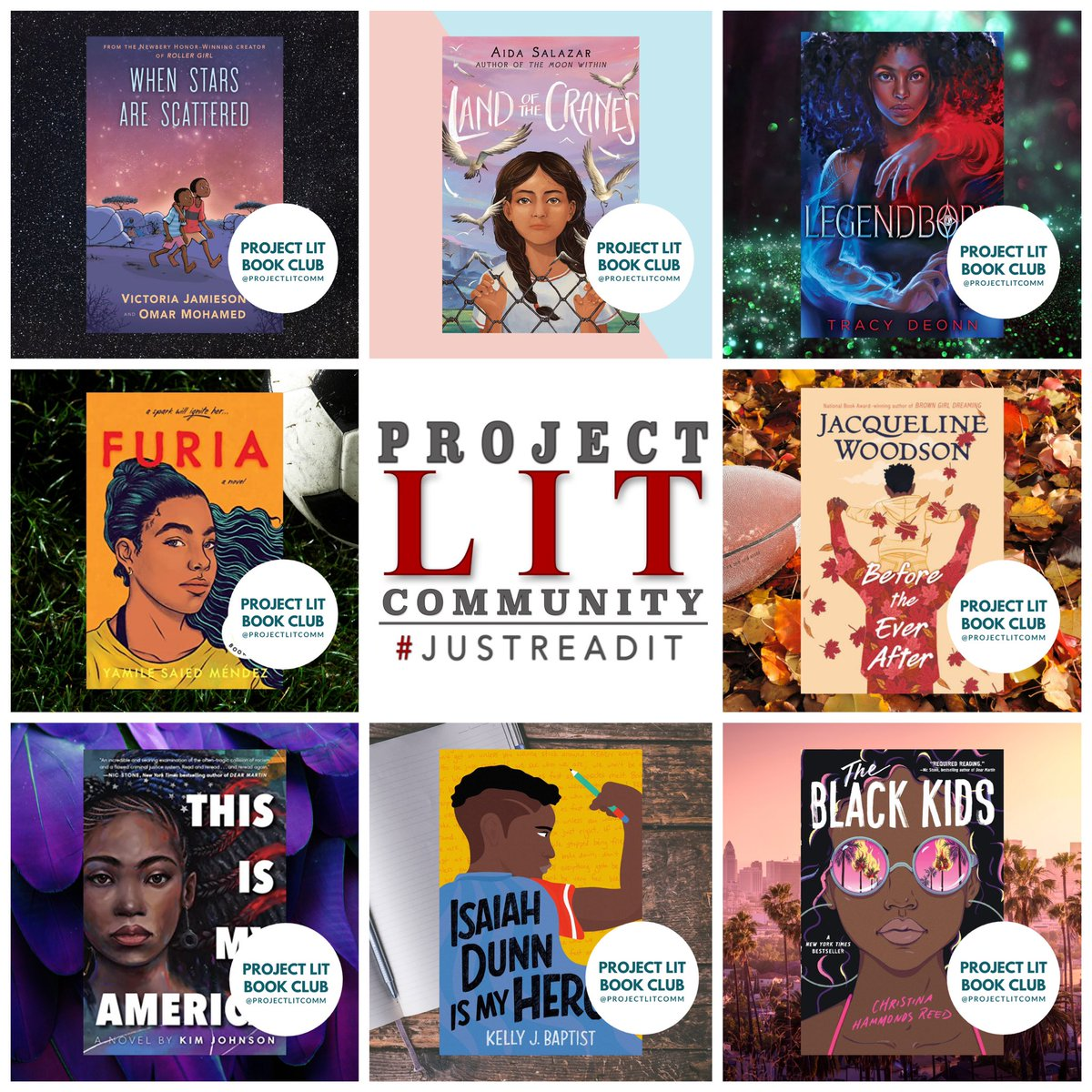 And then there were 8! #ProjectLITBookClub