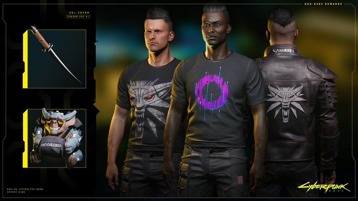 Anyone who gets #Cyberpunk2077, no matter the platform or edition, will be able to claim a set of digital goodies. If you connect your game to @GOGcom – you can also get some in-game rewards! 👇