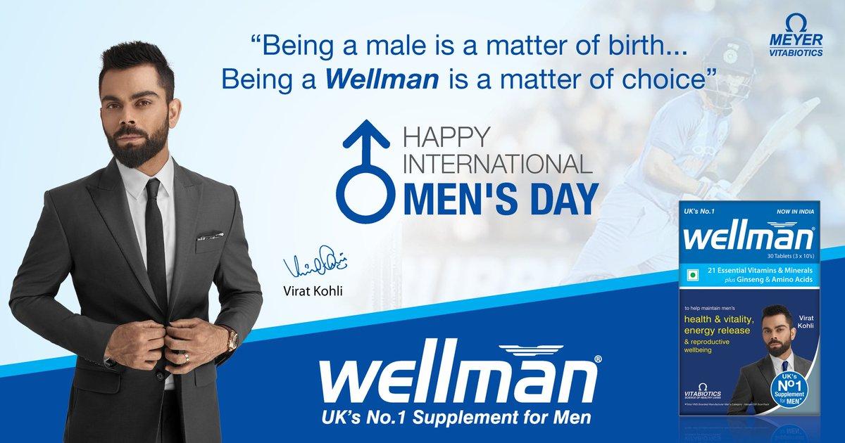 #Wellman wishes a Happy #InternationalMensDay to All the Wonderful Men!