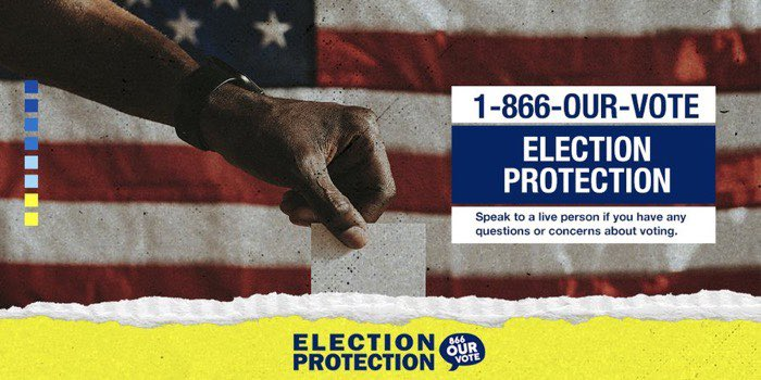 Call the Election Protection hotline (866-OUR-VOTE) today for voting help! Make a plan to vote in upcoming run-offs and special elections in Georgia, Alabama, Arkansas, Mississippi, Texas, and Louisiana. #ElectionProtection