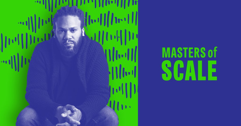 Devise ways to find things no one else has found - or didn't think to look for. That's the lesson from the latest episode of @MastersofScale with @franklinleonard, the founder of @theblcklst.