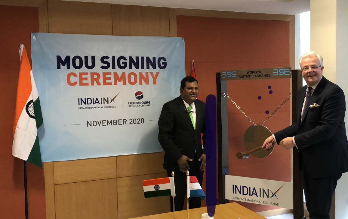 GIFT City Gujarat based INX signs MoU with Luxembourg Stock Exchange