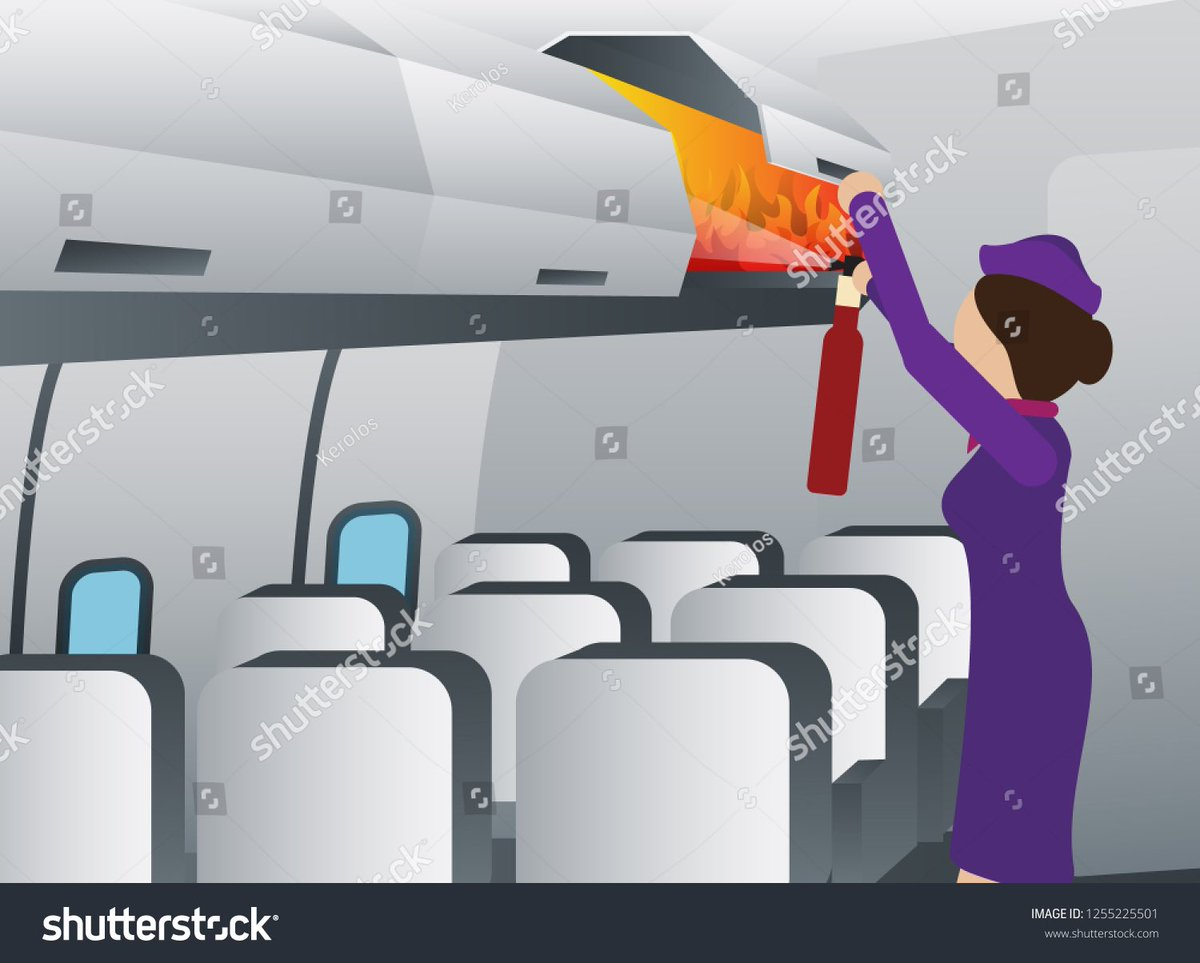 Today's lesson! Cabin Firefighting 101 #ThursdayMotivation #thursdayvibes #thursdaymorning  #ThursdayThoughts @ctourismcollege #remotelearning #flightattendant