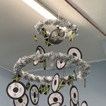 Christmas has arrived at Buttsbury this afternoon... the hoops are up!