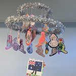 And some more hoops! The theme is Christmas Around the World