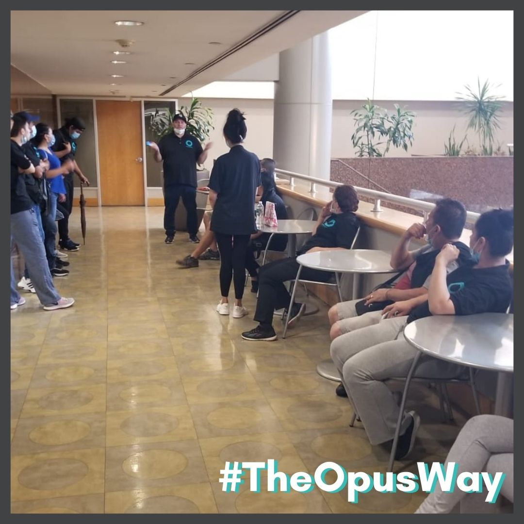 We'll get any job done right the first time. We provide efficient results #TheOpusWay!