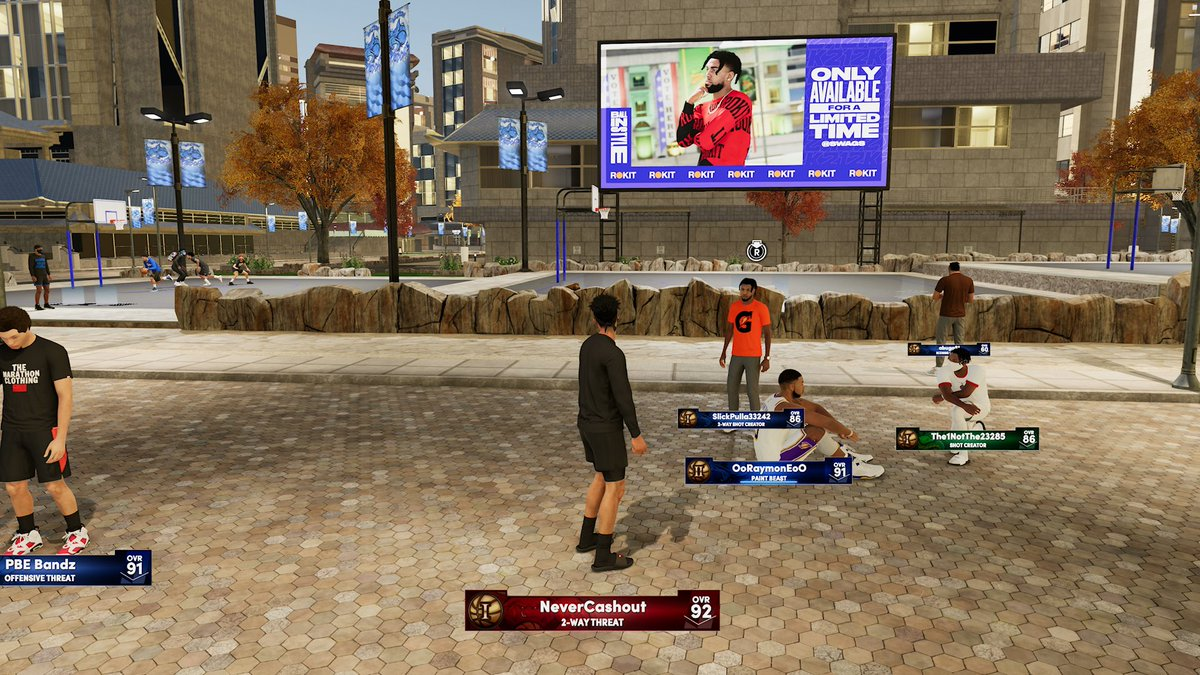Quil - Wanted to play some 2K but I guess I'm gonna have to wait for these guys to finish their game of duck duck goose