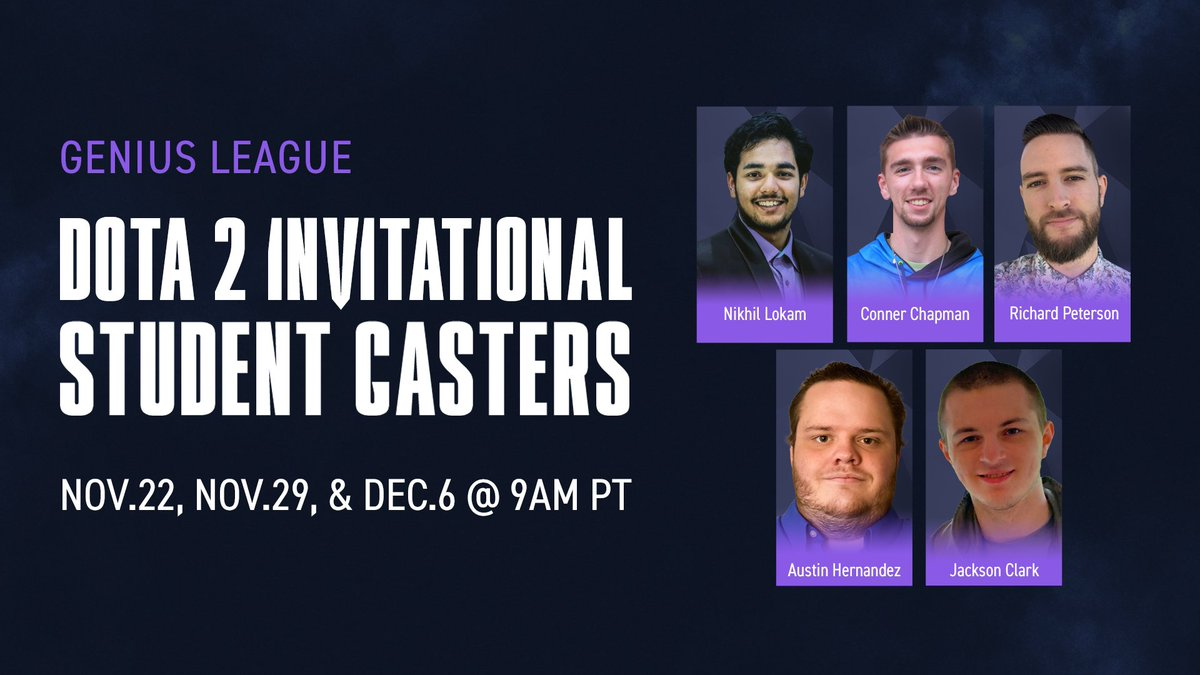 Evil Geniuses - You shall cast!🧙♂️  What better way to level up collegiate than to give our student casters a chance to shine? Show your support by tuning in every Sunday until Dec. 9th at 9AM PT on