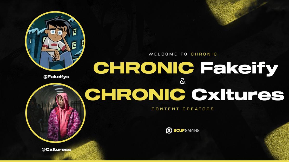 Chronic Fortnite Character Chronic On Twitter Welcome Fakeifys Cxlturess To Chronic