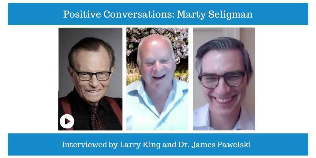 Check out my interview🎙️with @MartinEPSeligma founder of Positive Psychology. He shares how we can impact the joy in our lives. #dontmiss #positivepsychology #legend  @Pos_Voices