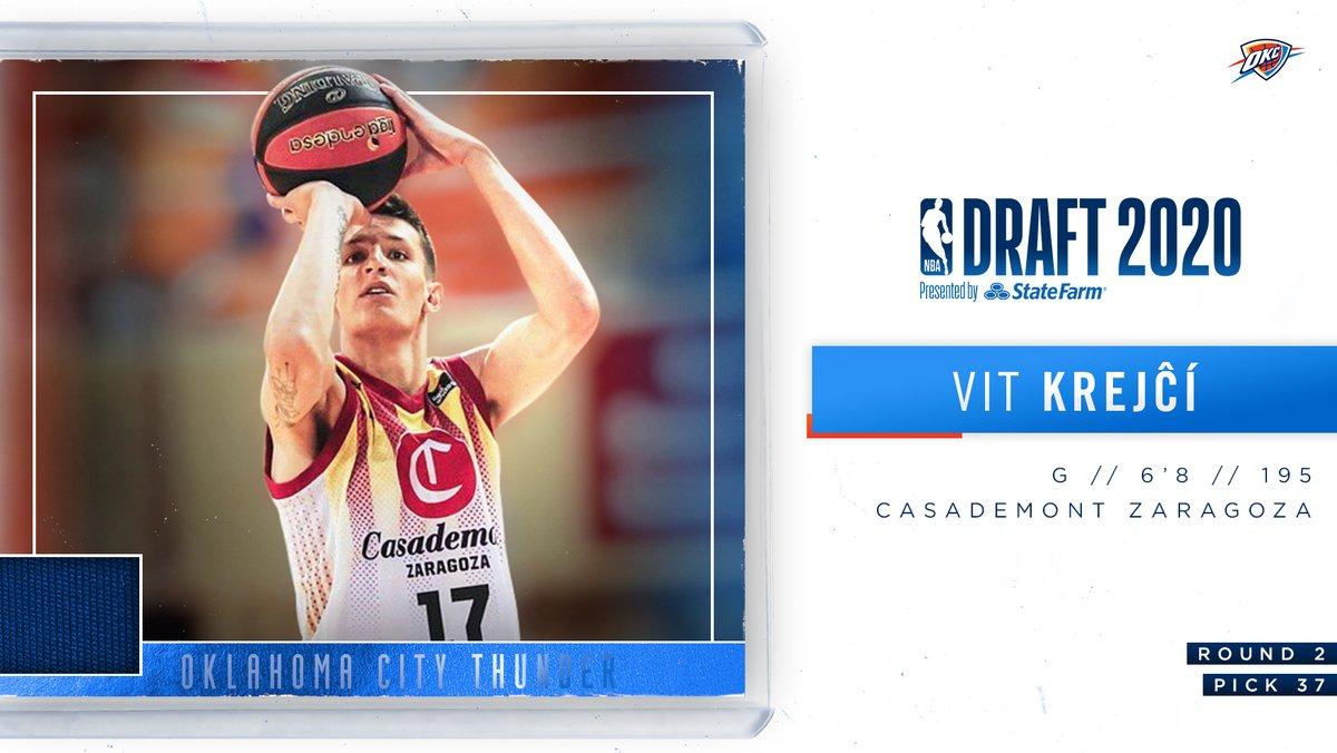 Welcome to the Thunder, Vít Krejčí!  @v_krejci | #ThunderUp https://t.co/uuPJgDQgA2