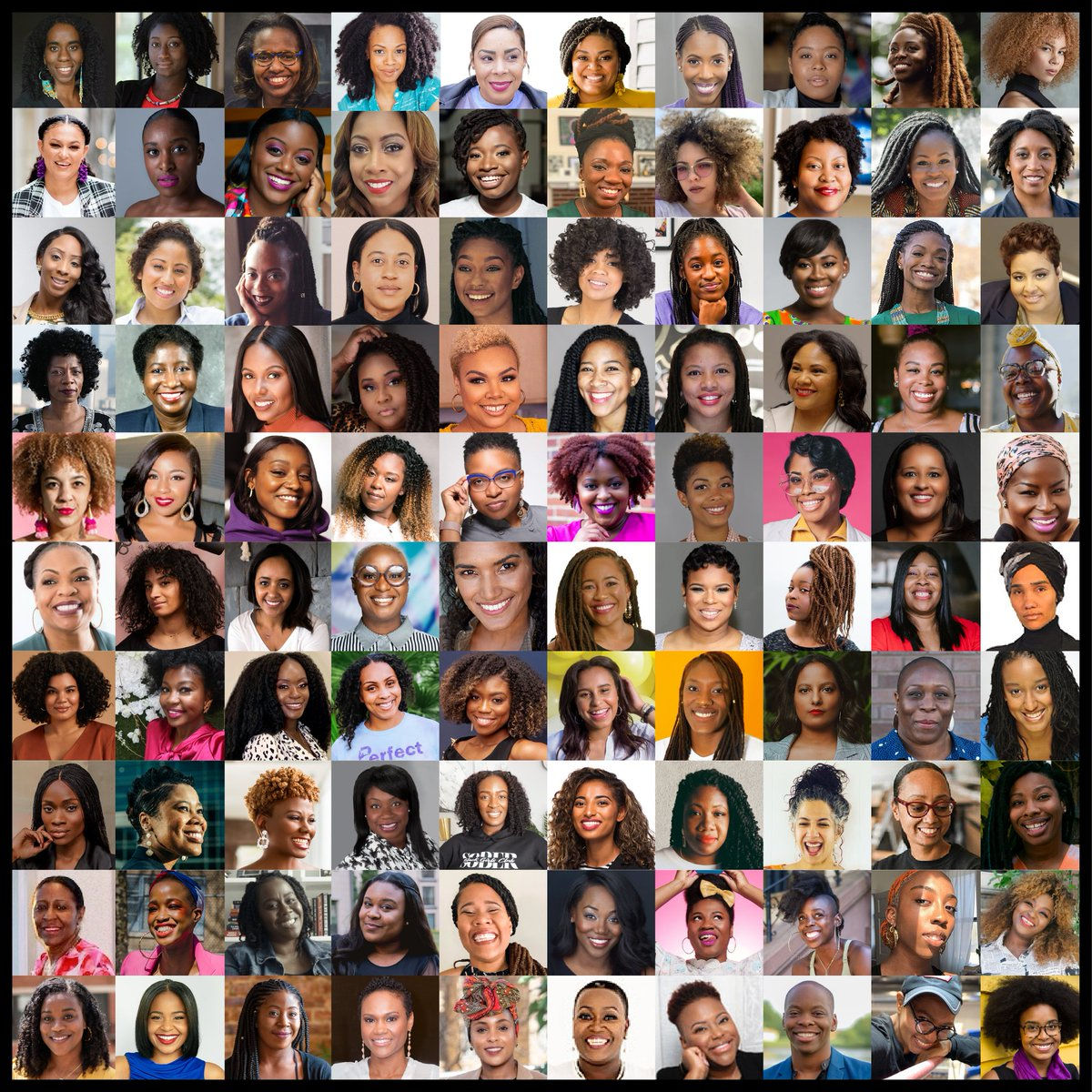 Meet the women of #Amex100for100. Black women start 763 new businesses every day.* To help jump start their businesses, we're backing 100 of these women w/ $25K in grants, resources & mentorship. Learn more:  *2019 State of Women-owned Biz Report by Amex