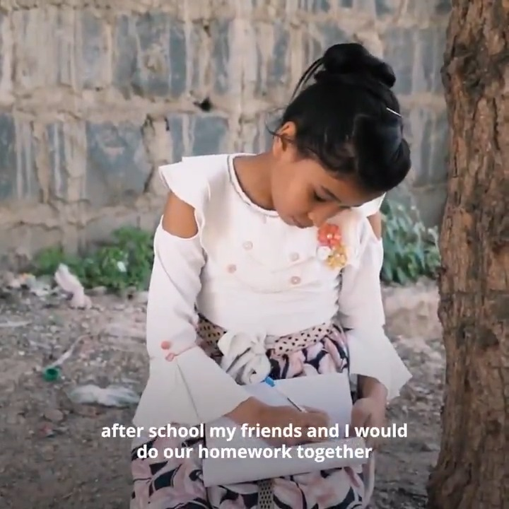 ❝Dear people of the world, please don't forget #Yemen. Remember my letter. I hope in the future we can be together in peace.  With my love, ✍️AMINA❞  ✉️Read Amina's letter to the world:  #YemenCrisis