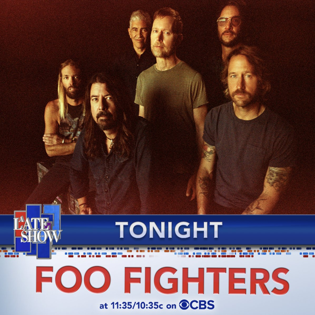 Replying to @colbertlateshow: There's only ONE place you can see the @foofighters tonight! 😉 #LSSC