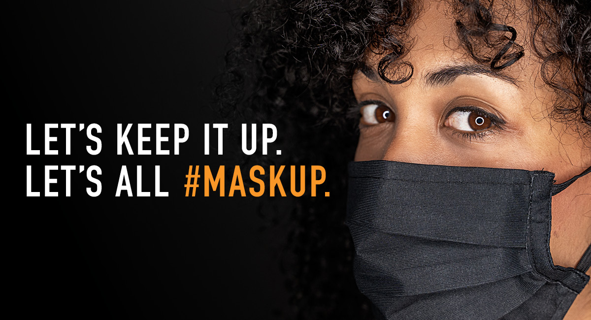 The science says it all. Masks work and they've helped slow the spread of COVID-19.  Let's #MaskUp and save lives together.  Learn more: https://t.co/0qLRaNNC0v https://t.co/xOLHaZ6Qek