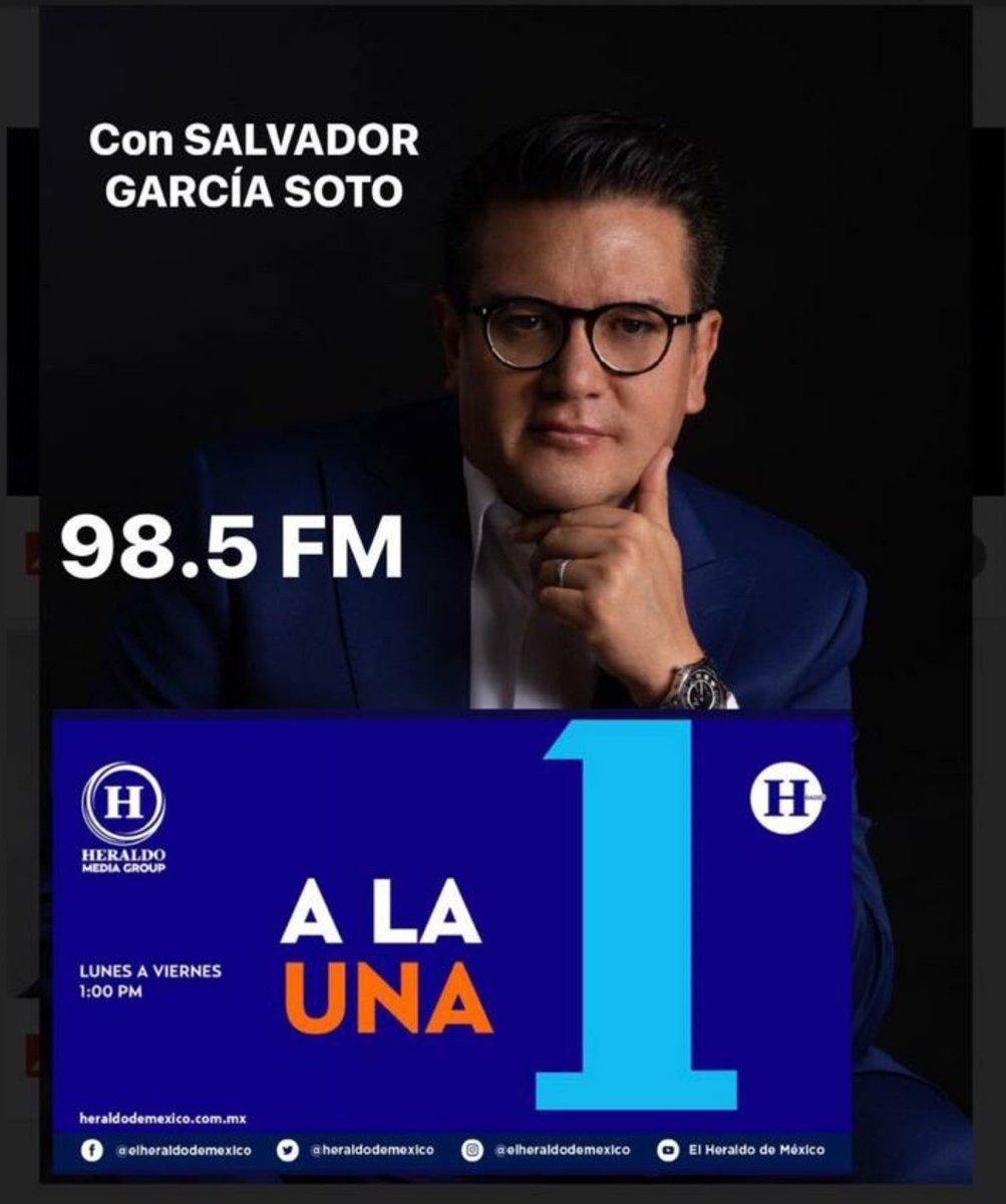 Iniciamos #Ala1conSGS: ✔El @GralSCienfuegos ya se encuentra en México. ✔La discusión por la legalización de la marihuan avanza. ✔La llamada