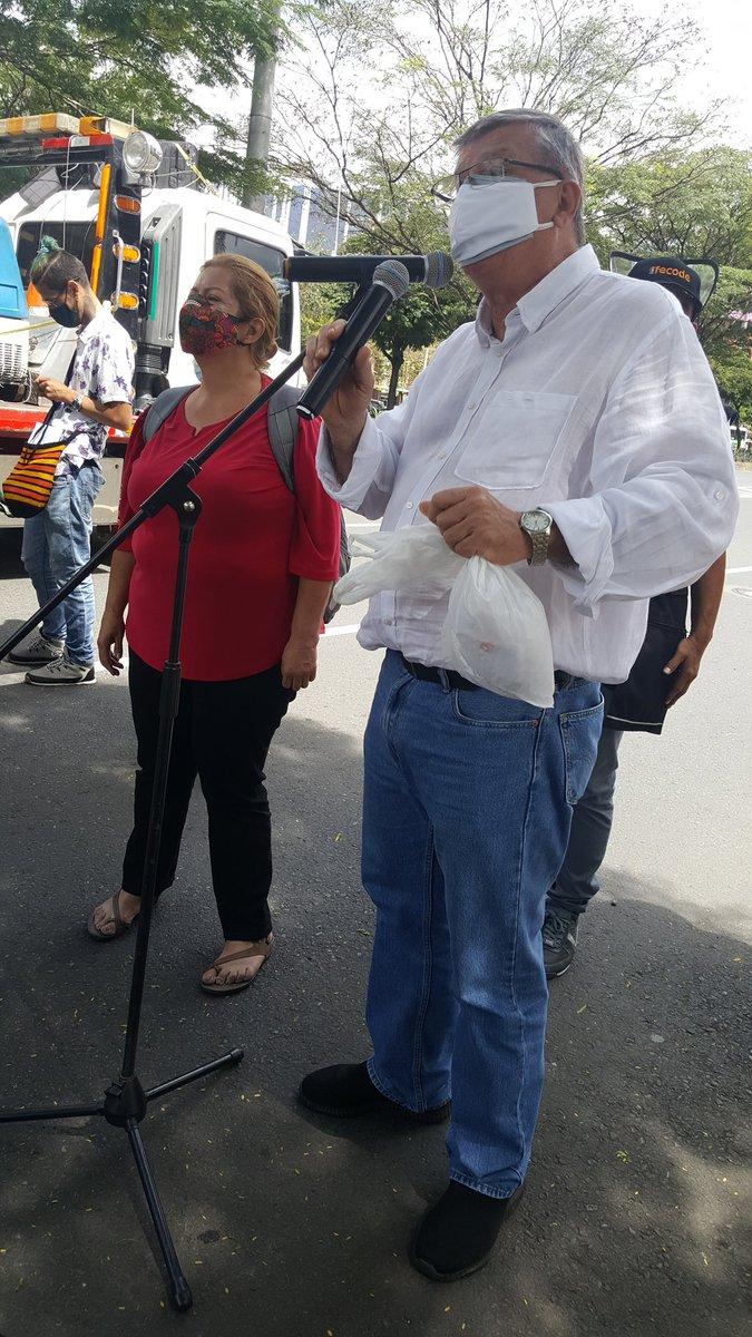 El congresista  antioqueño Jorge Gomez Gallego presdnte apoyando el.paro Nacional hoy 19 de noviembre de 2020@DiezLillyan https://t.co/k3HzOYfNry