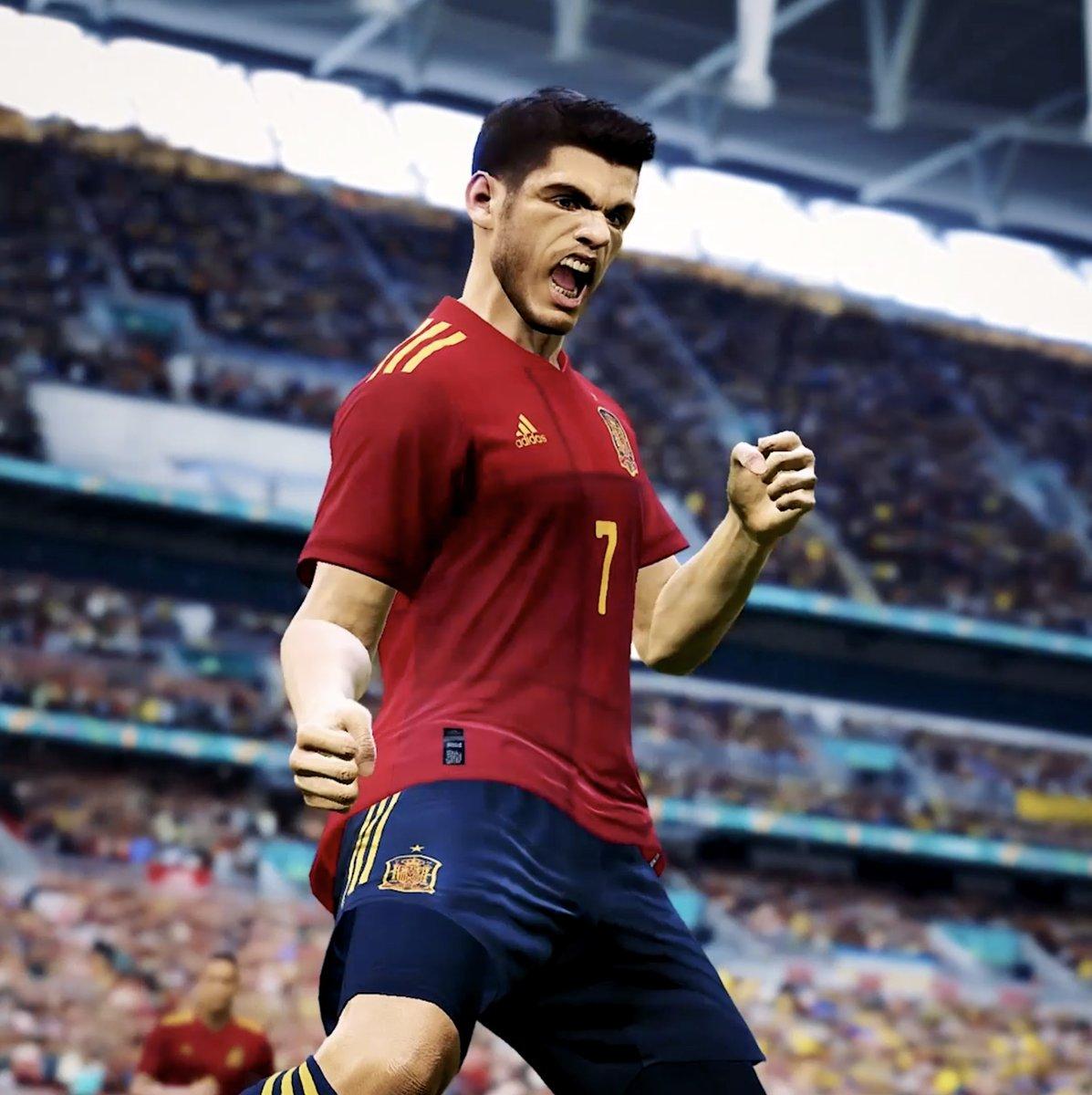 🎮 ¿Juegas al @officialpes? ¿Te gustaría representar a la @SeFutbol en un evento internacional?  😊 ¡¡¡ESTE ES TU MOMENTO!!!  ✍️🏻 Incríbete, PERO YA, en uno de los torneos clasificatorios para participar en la UEFA #eEURO2021.  ℹ️ Toda la información: