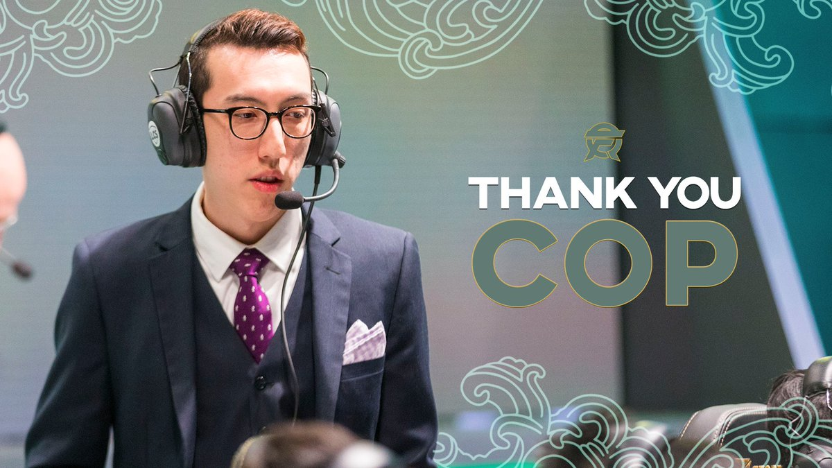 FlyQuest - Today, we part ways with Academy Head Coach @CopLoL_!   Thank you for everything, and good luck with your future endeavors!