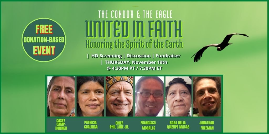 """After gathering 2,500 people on Tuesday around the importance of science - tonight, a coalition of faith-based groups is bringing together hundreds of people """"United in Faith, honoring the Spirit of The Earth"""". You have another four hours to register here:"""