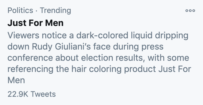 and ofc it's meme'd and trending on twitter—the lifecycle of this news moment is complete.