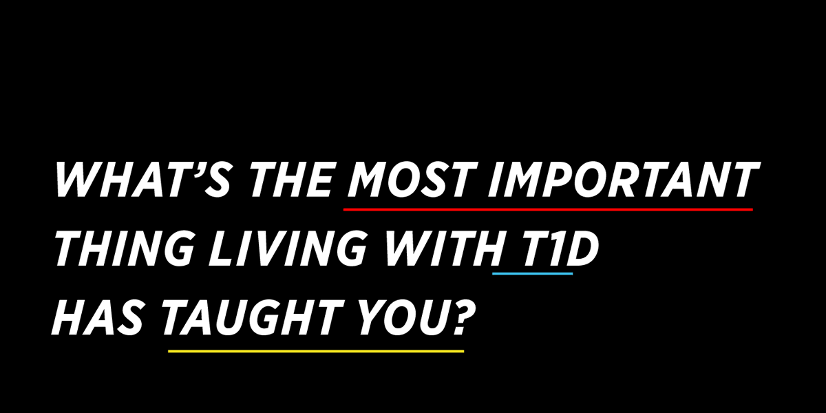 RT with a comment + let us know what the most important thing (or things) living with #Type1diabetes has taught you in the comments. Learn more about #TheDropSpotted here 👉