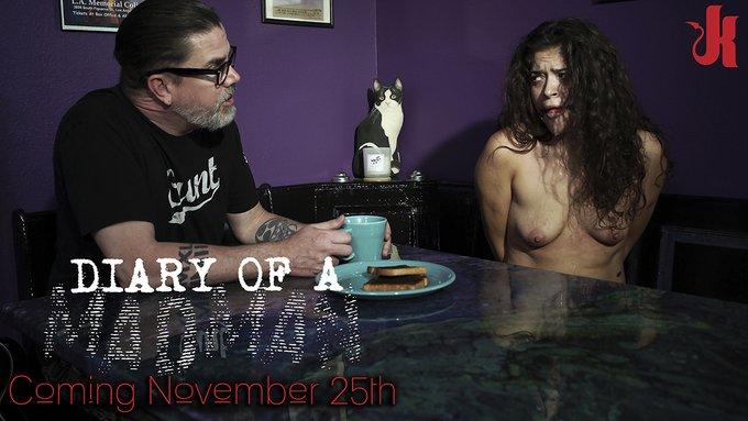 COMING SOON...  Diary of a MADMAN: A https://t.co/HbA0JVQ8pC Exclusive Four Part Series Starring #VictoriaVoxxx Written