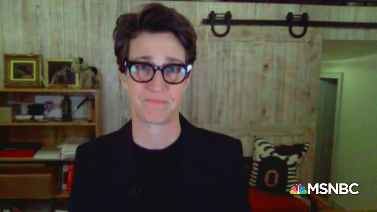 Maddow: Don't get this thing. Do whatever you can to keep from getting it.  Rachel Maddow reveals that her partner, Susan, tested positive for Covid-19 and is still recovering, and implores viewers to consider their loved ones when they calculate their own Covid-19 risk.
