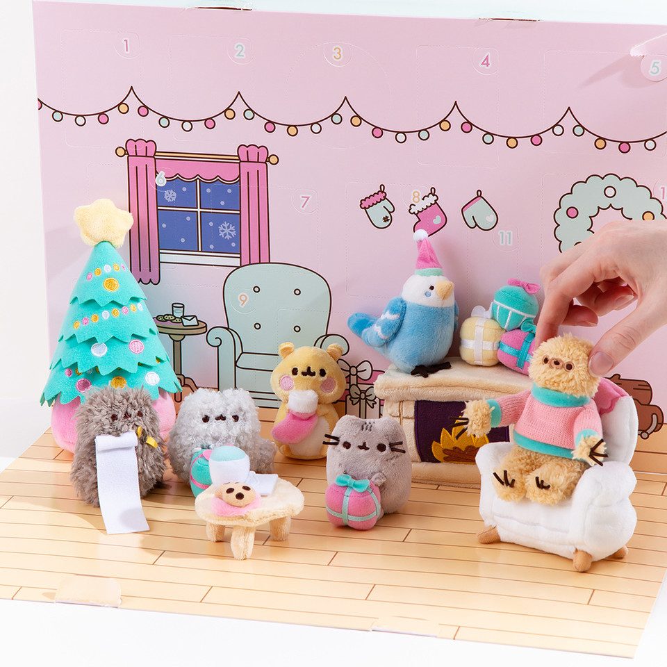 The Pusheen Advent Calendar is filled with TWELVE mini surprise plush creating the most adorable Christmas scene! 🎄 bit.ly/3nFXY7k
