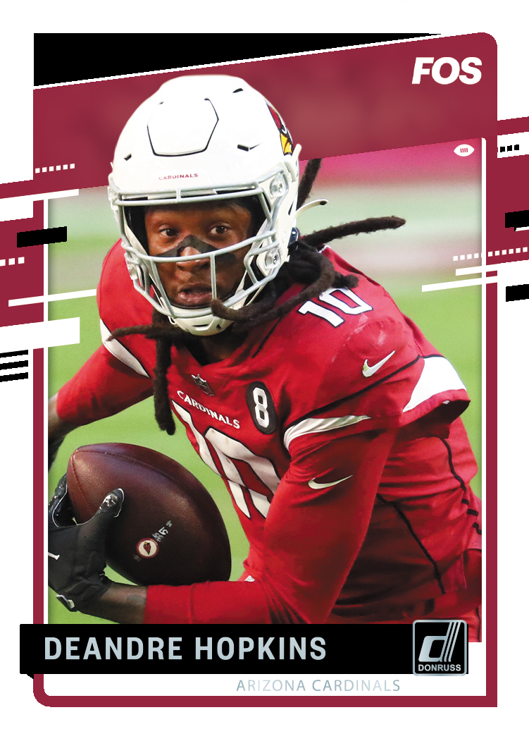 DeAndre Hopkins was drafted 27th overall by the Houston Texans in the 2013 NFL Draft.   The Arizona Cardinals signed Hopkins to a 2-year, $54.5 million contract, which included a $27.5 million signing bonus and $60 million guaranteed.  (⚡️: @PaniniAmerica) https://t.co/feBUZkiOPC