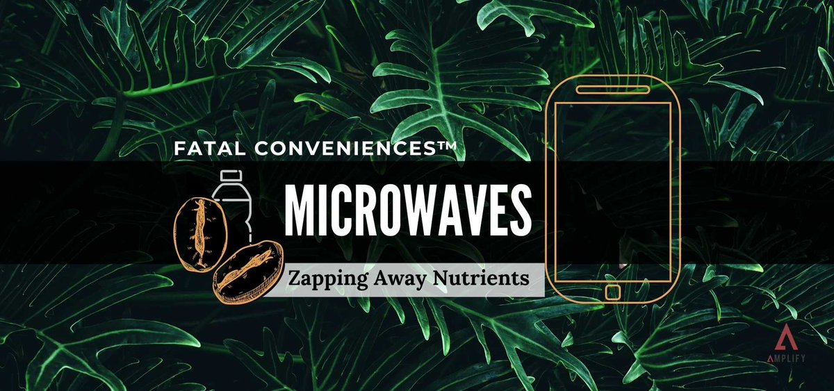 Microwaves work by changing the molecular structure of your food. This depletes whatever you cook of necessary nutrients we need for optimum health 🤨   Learn why you should get rid of your microwave on this Fatal Conveniences™ segment. OUT NOW!