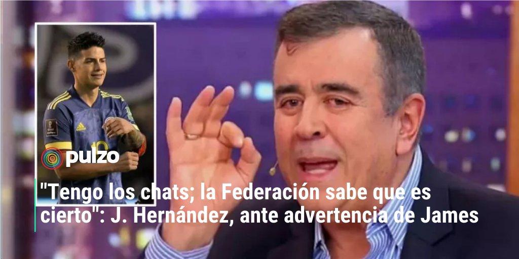 #ATENCIÓN El periodista, que fue quien reveló los aparentes choques en el camerino de la Selección Colombia, aseguró que tiene cómo demostrar la información que entregó.🤔⤵https://t.co/tTNap2N8UH https://t.co/PJ0xSJ8jOy