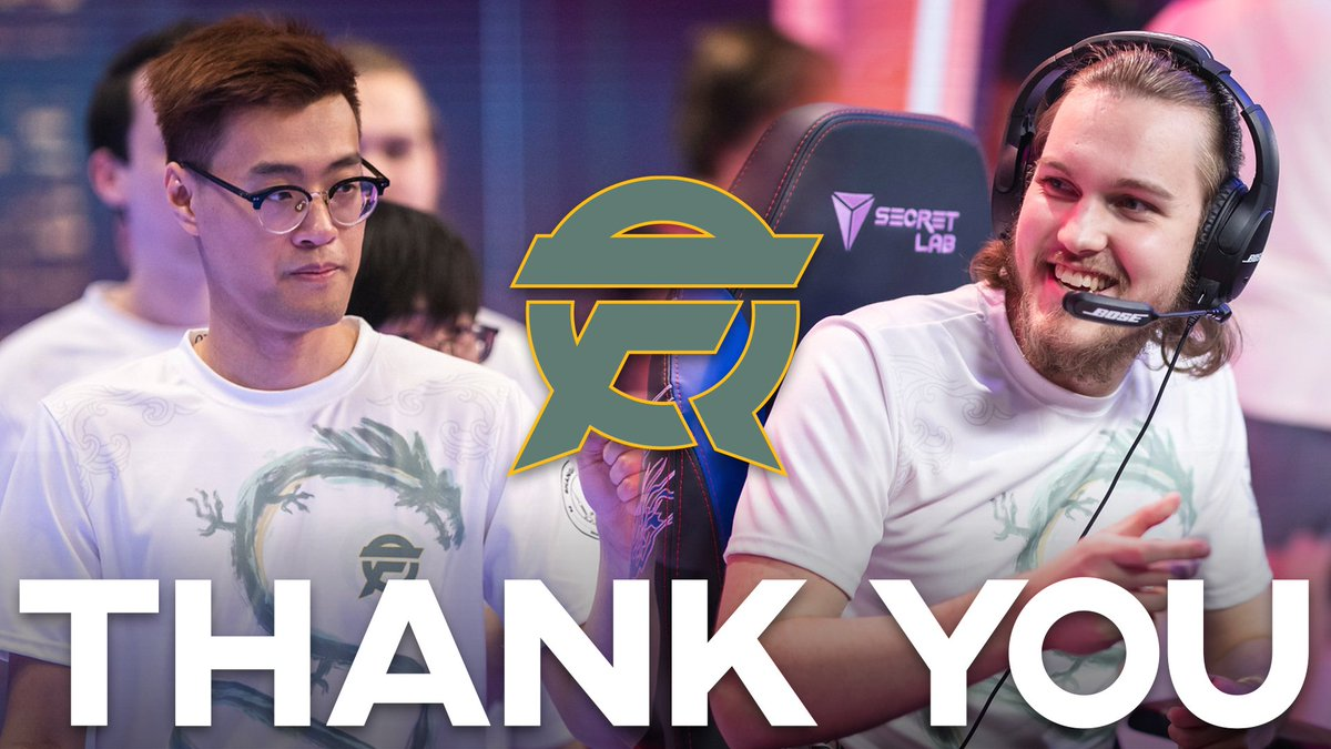 FlyQuest - Today marks the end of an era but also the beginning of a brand new chapter.   Goodbye, @Santorin and @WildTurtle, and thank you!